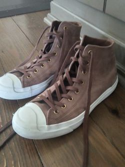 Womens Size 10 Jack Purcell Converse High Tops for Sale in Duvall,  WA