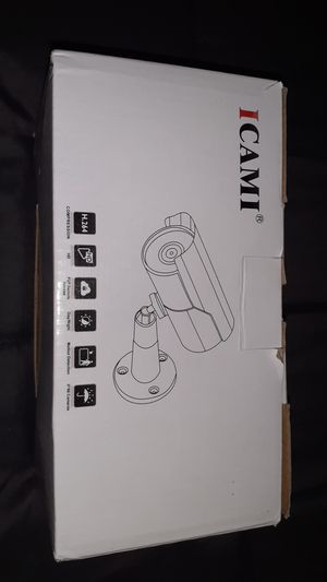 ICAMI SECURITY CAMERA for Sale in Tacoma, WA