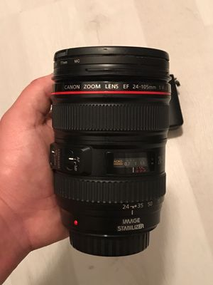 Canon EF 24-105mm f/4L IS USM Lens for Sale in Lutz, FL
