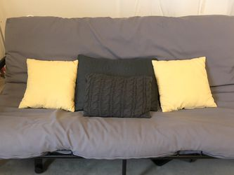 Grey and Black Futon for Sale in Broomfield,  CO