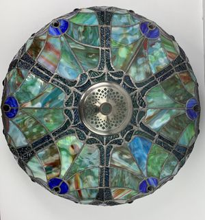 Tiffany Style Stained Glass Floor Lamp for Sale in Dulles, VA