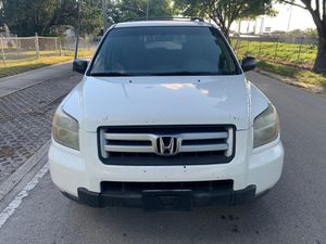2007 HONDA PILOT - CLEAN TITLE, 3 ROW SEATS, NEW TIRES, RUNS SMOOTH for Sale in Miami, FL