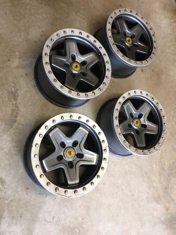 AEV Pintler Beadlock wheels for Jeep Wrangler JK
