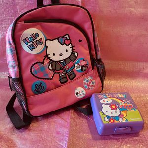 Hello kitty backpack set for Sale in San Antonio, TX