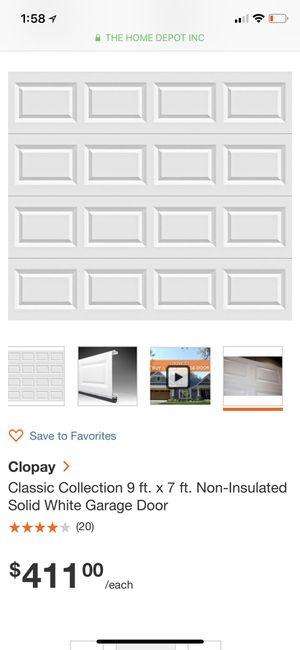 9x7. Garage door for Sale in Denver, CO