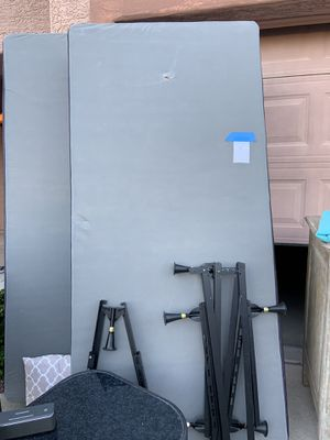 Free King Size Box Springs, Frame and Headboard!! for Sale in Phoenix, AZ