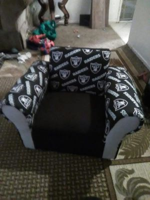 Kids raiders chair for Sale in Fresno, CA
