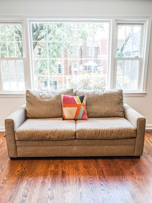 SLEEPER SOFA W/ FULL MEMORY FOAM MATTRESS for Sale in Falls Church, VA