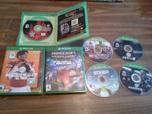 Xbox One Games Lot 2 for Sale in Hopewell, VA