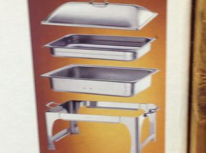 2 Chafing dish, still in boxes, heavy duty sold separately for Sale in Piscataway Township, NJ