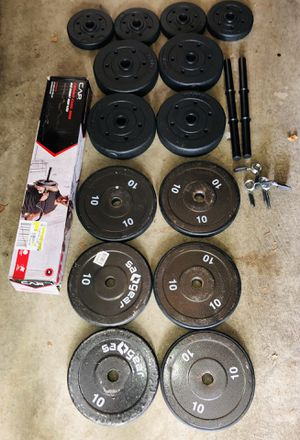100 Pounds of Weight Plates for Sale in Gaithersburg, MD