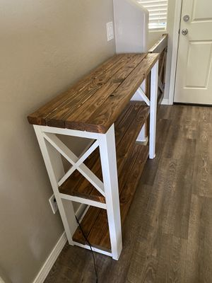 Entry table hand made for Sale in Tolleson, AZ