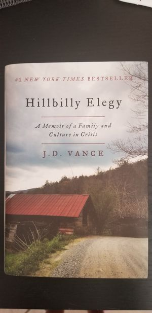 Hillbilly Elegy book, new for Sale in Doral, FL
