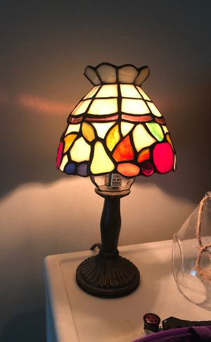 Glass stained lamp for Sale in Marysville, WA