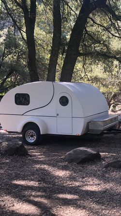 Custom Camping Teardrop/toy hauler for Sale in Westminster,  CA