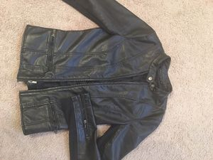 Express leather womens jacket for Sale in Salt Lake City, UT