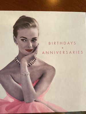Birthday and Anniversaries Book for Sale in Waltham, MA