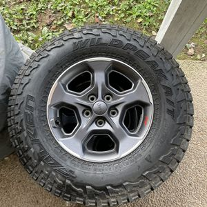 New Jeep Rubicon Wheel And Tire Full Set for Sale in Thompson's Station, TN