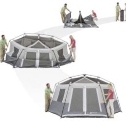 8 person tent 🏕 fit 2 queen air mattress for Sale in Elk Grove,  CA