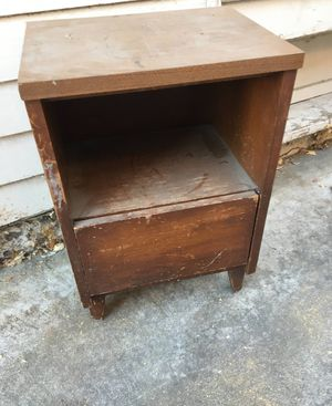 MCM nightstand end table for Sale in Mountain View, CA