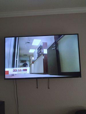 "New Roku Flat Screen Smart TV 60"" w/Remote for Sale in Dallas, TX"