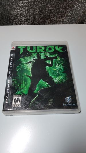 Turok Playstation 3 ps3 for Sale in Dallas, TX