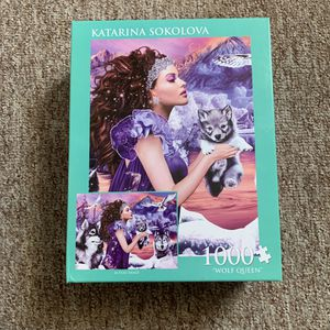 Unopened New Box - 1000 Wolf Queen Puzzle Game Toy for Sale in Mesa, AZ