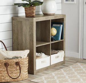 Rustic grey bookshelf bookcase - New for Sale in Taylor, MI