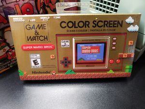 Nintendo Super Mario Bros Game & Watch - New & Sealed for Sale in Pumpkin Center, CA