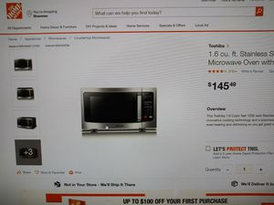 Toshiba Microwave for Sale in Kansas City, KS