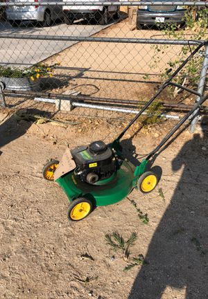 Lawn mower $35 WeedEater brand for Sale in Hesperia, CA