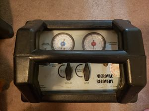 Microvac Refrigerant Reclaimer for Sale in Medford, OR