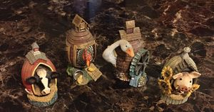 4-Vintage Lowell Herrero farm animal figurines for Sale in Rancho Cucamonga, CA