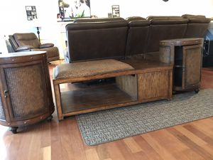 Coffee table & 2 end tables (3 piece set) for Sale in Virginia Beach, VA