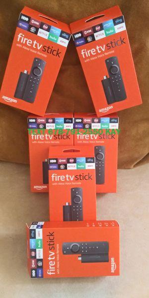 New Edition Unlocked Fire TV Stick w/ Voice&Volume Remote for Sale in Morrow, GA