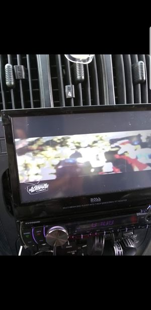 Boss Cd/DVD screen great condition for Sale in West Point, MS