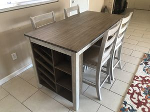 Brand New Ashley Furniture dining room set for Sale in Bakersfield, CA