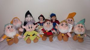 New with tags Disney Snow White and The Seven Dwarfs complete set Beanie Babies for Sale in Downers Grove, IL