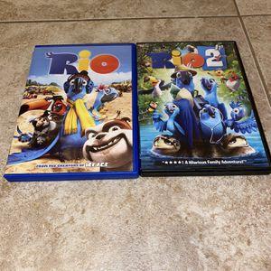 Rio & Rio 2 DVD for Sale in Phoenix, AZ