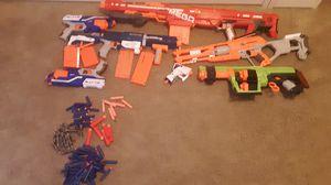 Nerf gun lot for Sale in Leesburg, VA