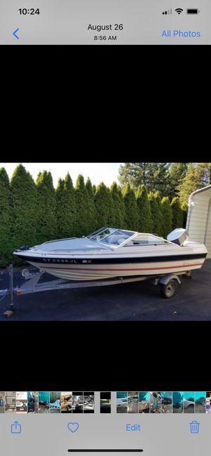 1986 Fiberglass boat. 85Hp Force/ Chrysler for Sale in Hillsboro, OR