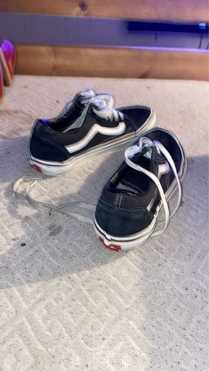 Black VANS 7.5 for Sale in Anaheim, CA