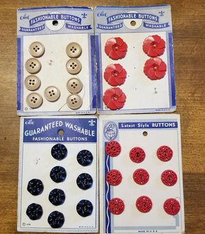 Antique buttons for Sale in Middletown, PA