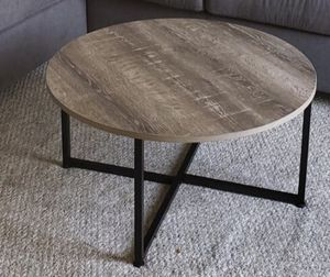 Ash wood Round Coffee Table for Sale in San Jose, CA