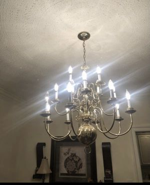 Brass Chandelier for Sale in Newport News, VA