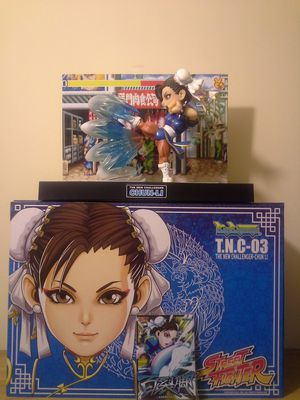 Classic Video Game Figure Street Fighter II The New Challenger Figure Series Chun Li Made By Big Boys Toys Like New for Sale in Reedley, CA