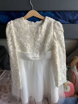 Girls Baptism/Wedding Ivory Lace Dress for Sale in Fontana,  CA