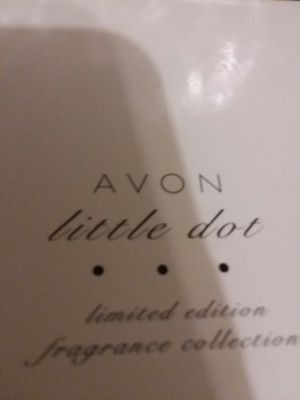 Avon little dot 3pc fragrance violet rose hyacinth for Sale in St. Louis, MO