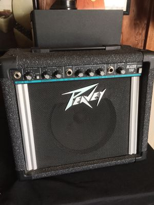 Peavey Blazer 158 teal stripe guitar combo amp for Sale in Weymouth, MA