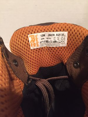 Timberland steel tip work boots. for Sale in Montoursville, PA
